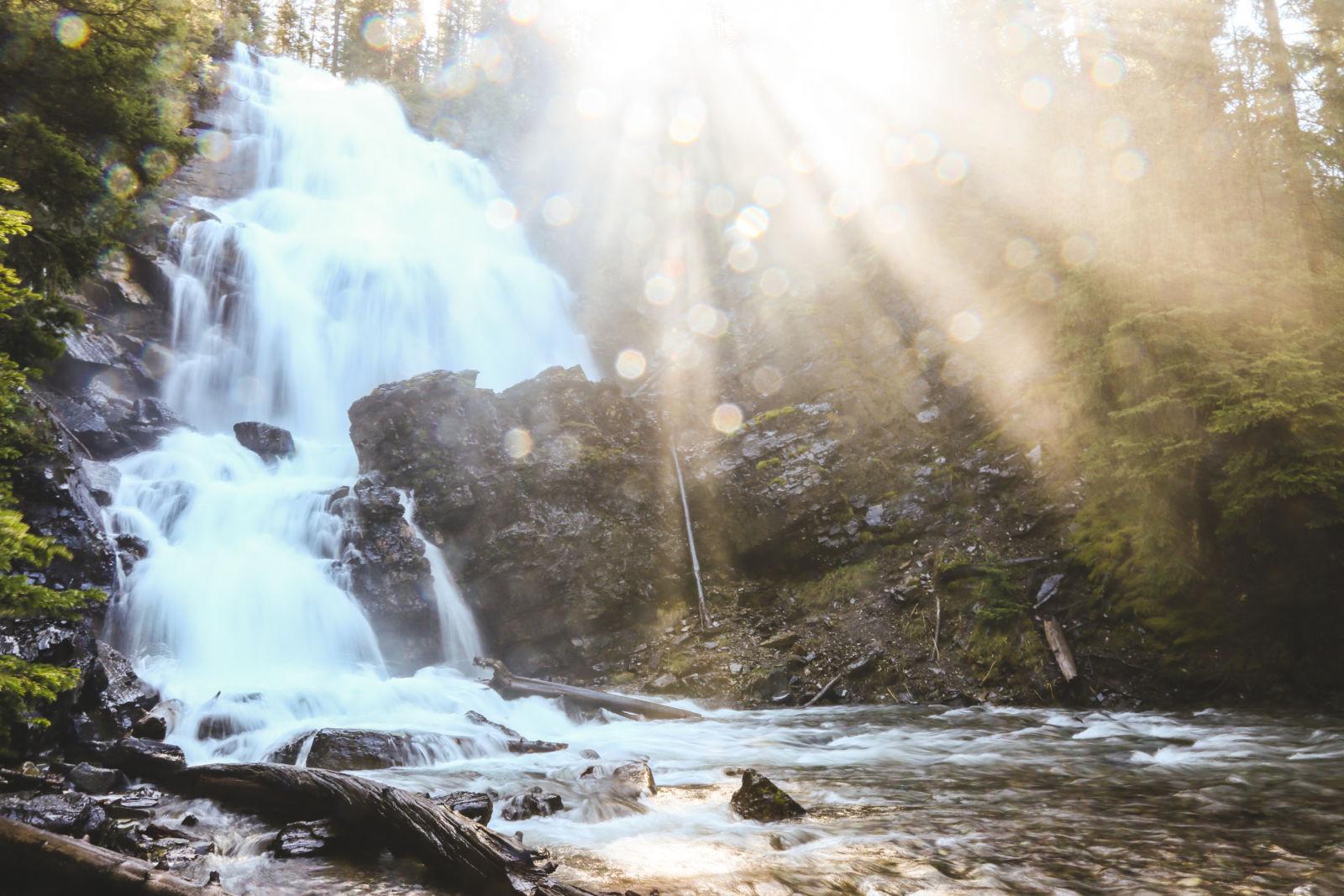 Morrell Falls, Montana