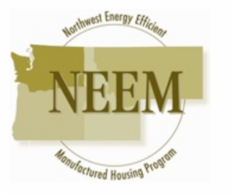 NEEM Logo. Text: Northwest Energy Efficient Manufactured Housing Program